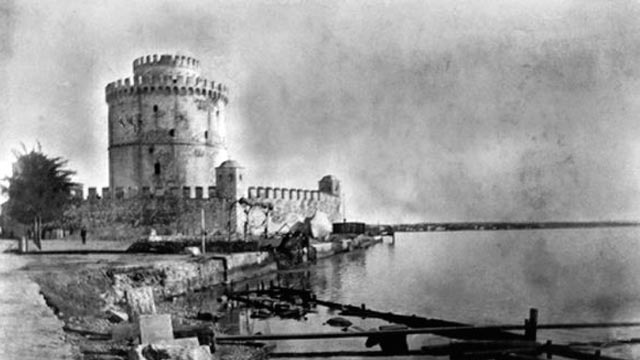 Thessaloniki White Tower  byzantium.filminspector.com
