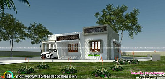 Low cost home design by Jithu Radhakrishnan