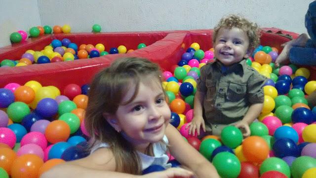 Saindo com crianças