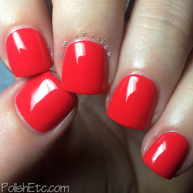 SinfulColors - Energetic Red - McPolish