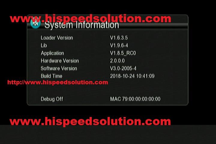 GX6605s_5815_V4 1_Sony_Network_software | hispeed solutions