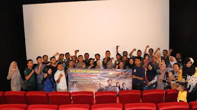Kabid Humas Polda Banten, NOBAR Film Sang Prawira bersama Sahabat Media