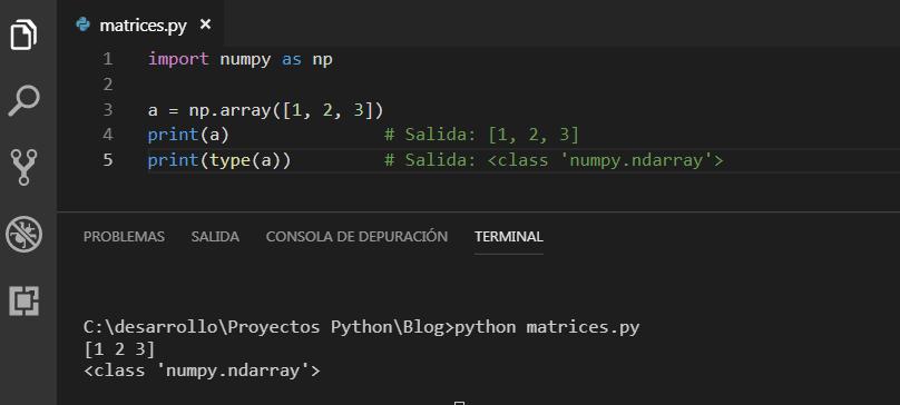 NumPy Python