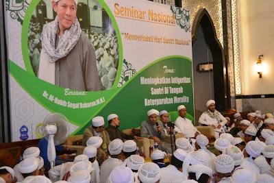 Seminar HSN, Jihad Santri Mendamaikan Negeri | lpm dalwa | dalwa