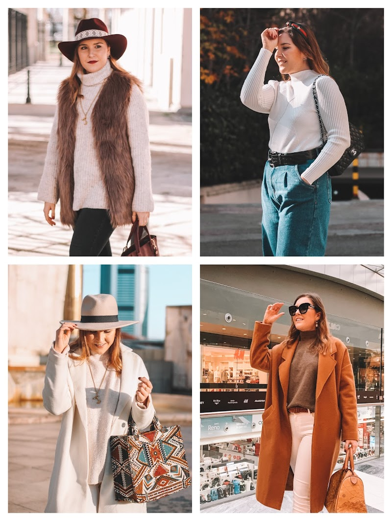 HOW TO WEAR A TURTLENECK TOP | IDEAS DE LOOKS CON JERSEYS DE CUELLO ALTO