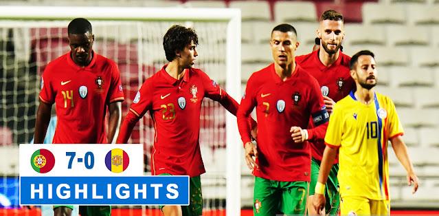 Portugal vs Andorra – Highlights
