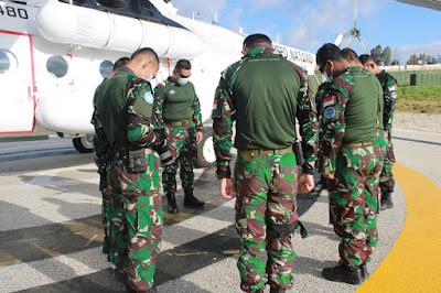 Satgas Indobatt XXIII-O/UNIFIL Laksanakan Patroli Udara
