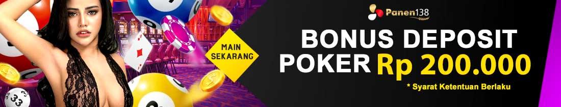Promo Bonus Deposit  Harian Poker