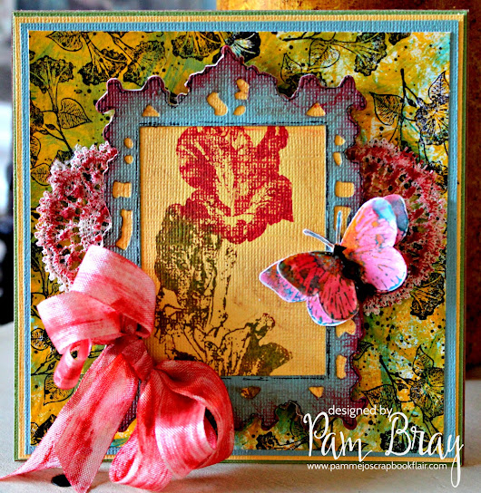 Gladious Card with Emerald Creek Supplies