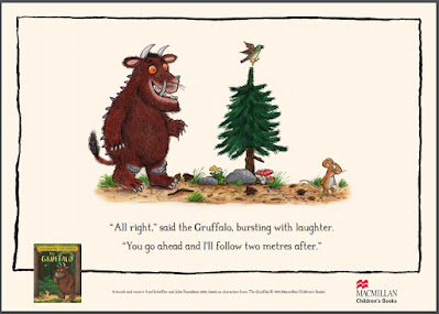 Gruffalo 2 metres after Julia Donaldson