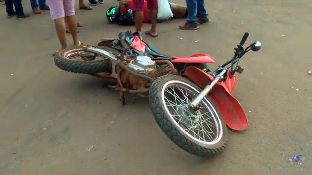 Acidente envolvendo duas motocicletas é registrado na BR-316 em Bacabal