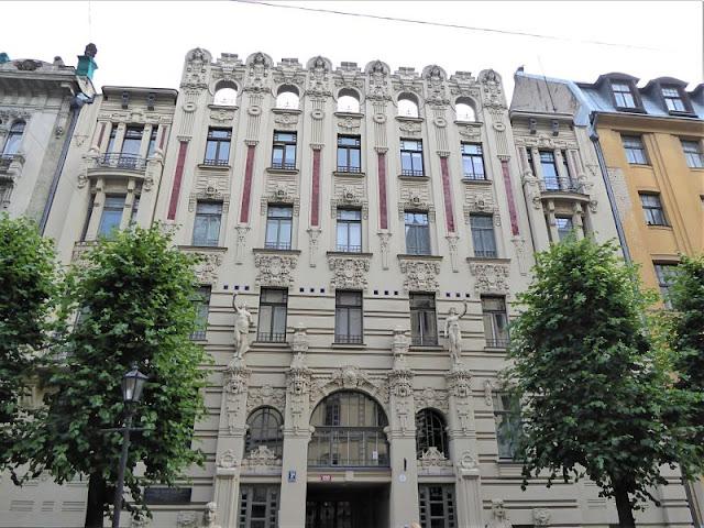 appartamento Boguslavskiy art nouveau riga
