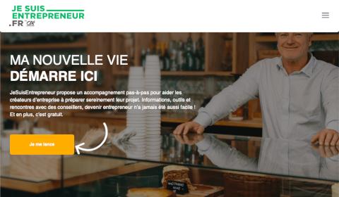 Accueil JeSuisEntrepreneur.fr