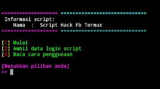 Script Hack FB Termux 2021 Anti Checkpoint