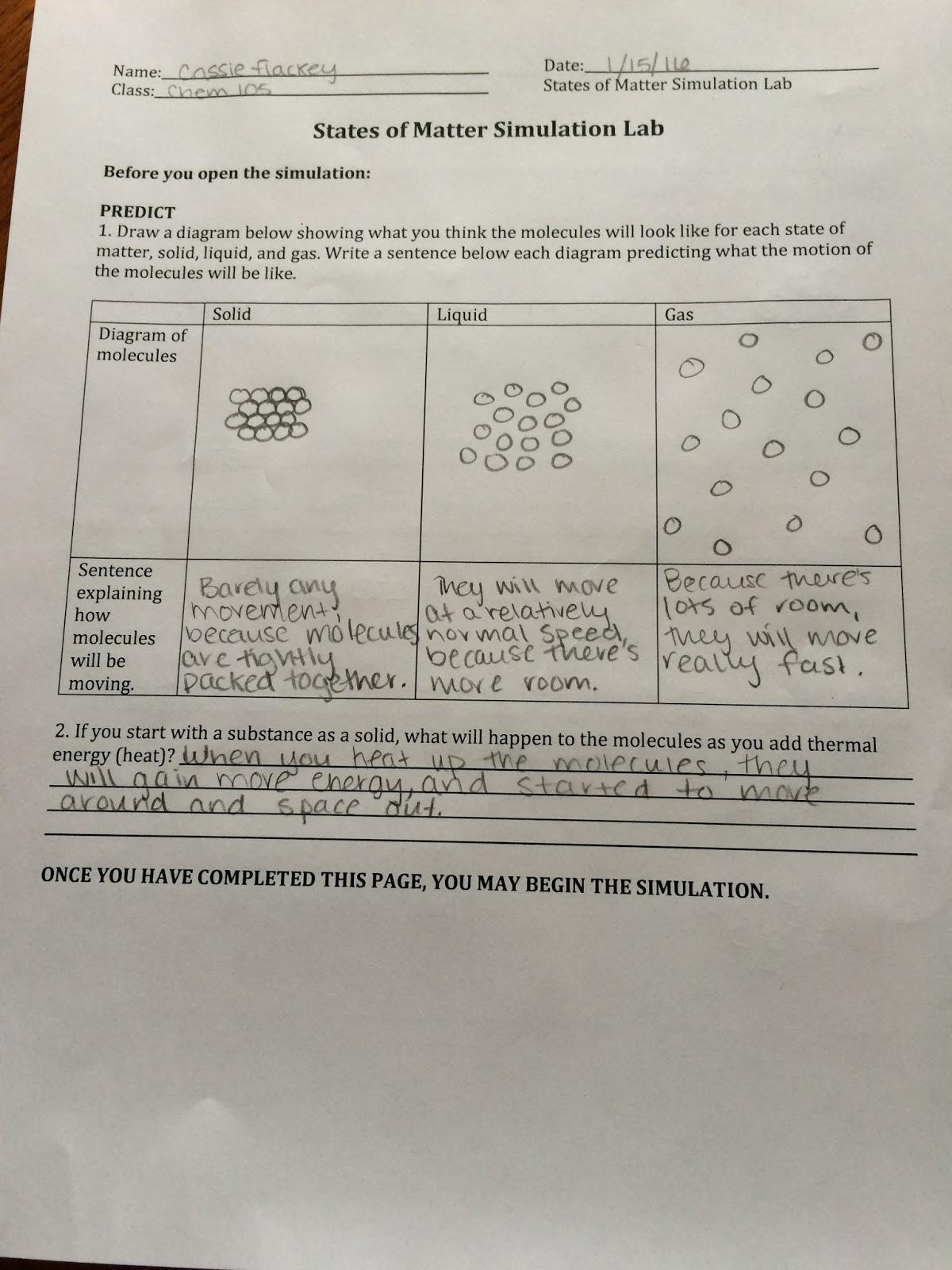 Visualizing Chemistry 105 Activity 6