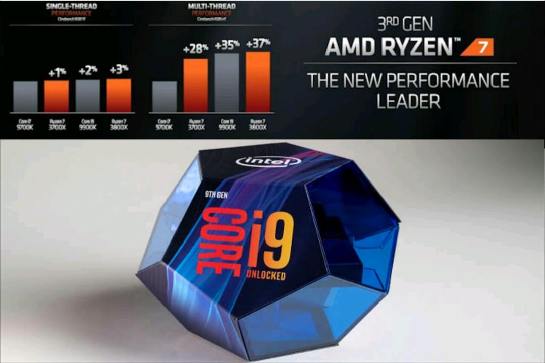 Life-Grim : AMD's Ryzen 7 3700X Outstand Intel Core i9-9900K In New