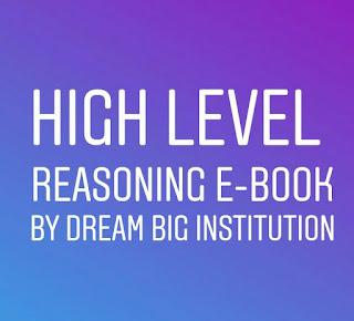High level Reasoning E-book