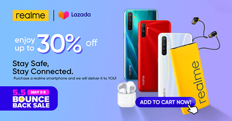 List of realme smartphones on sale in Lazada this May 3