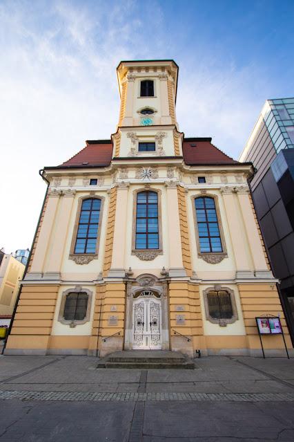 Distretto dei 4 templi-Dzielnica Czterech Świątyń-Breslavia