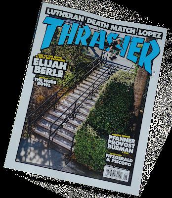 thrasher magazine x ironxhanger ©