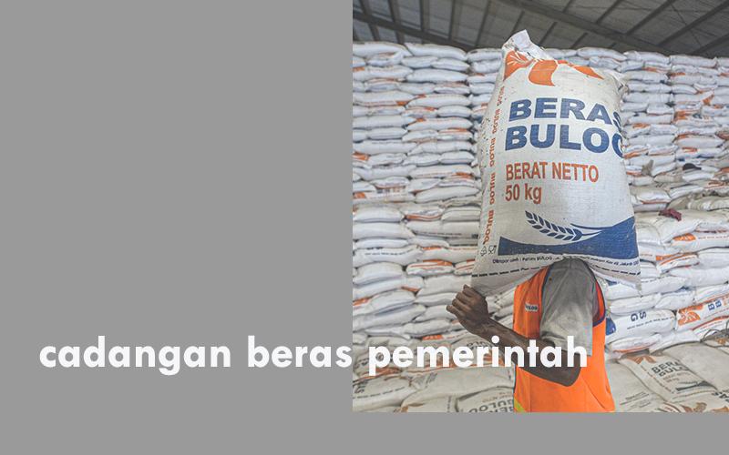 cadangan beras pemerintah