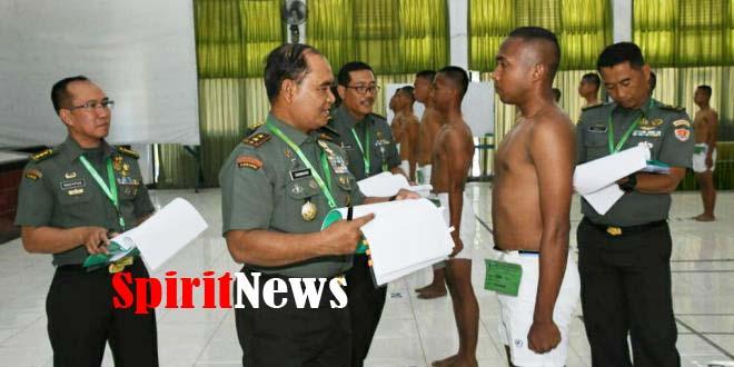 Pangdam Hasanuddin, Calon Prajurit Harus Berkualitas Untuk Profesionalisme TNI AD