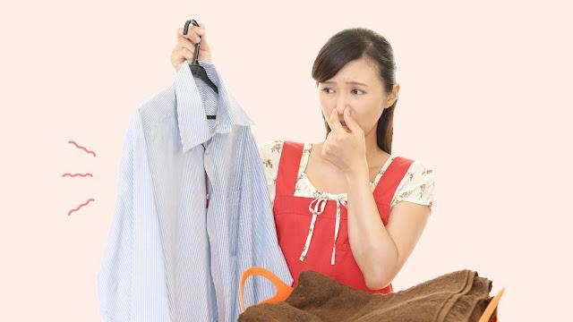 Pengalaman Menghilangkan Bau Apek Baju