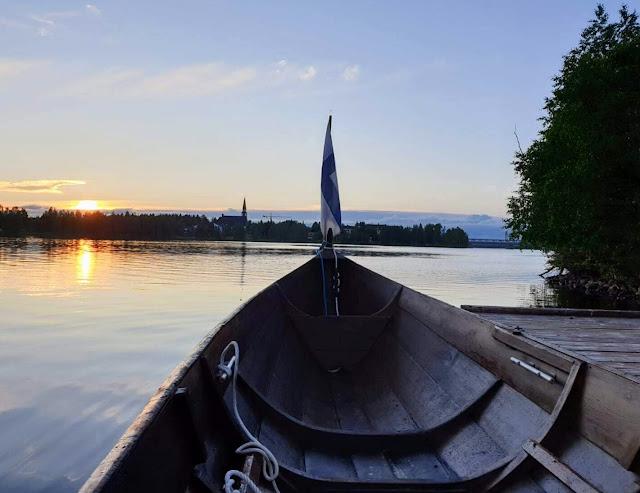 Onko Rovaniemellä kesällä valoisaa