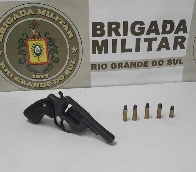 Homem é preso por porte ilegal de arma de fogo em Gravataí