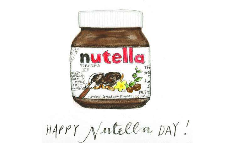 World Nutella Day Wishes for Whatsapp