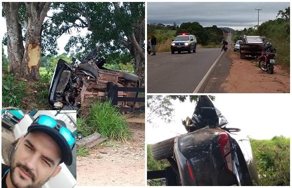 Empresário cacoalense morre em grave acidente de trânsito nessa manhã de sábado