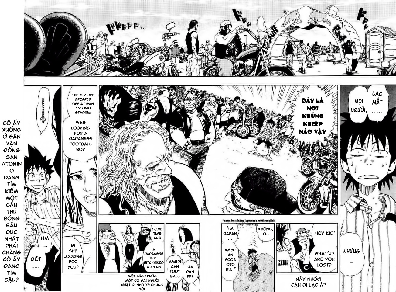 Eyeshield 21 chapter 82 trang 14