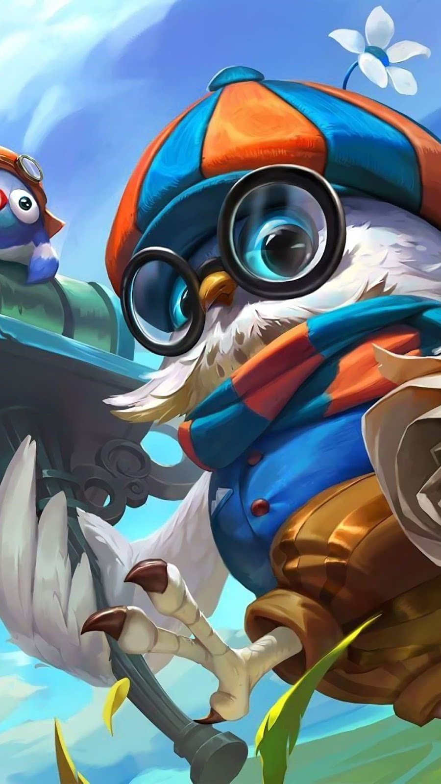 Wallpaper Diggie Pigeoneer Skin Mobile Legends HD for Android and iOS