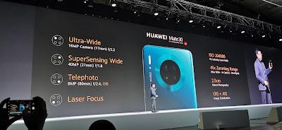 كاميرات هاتف هواوي HuaweiMate30