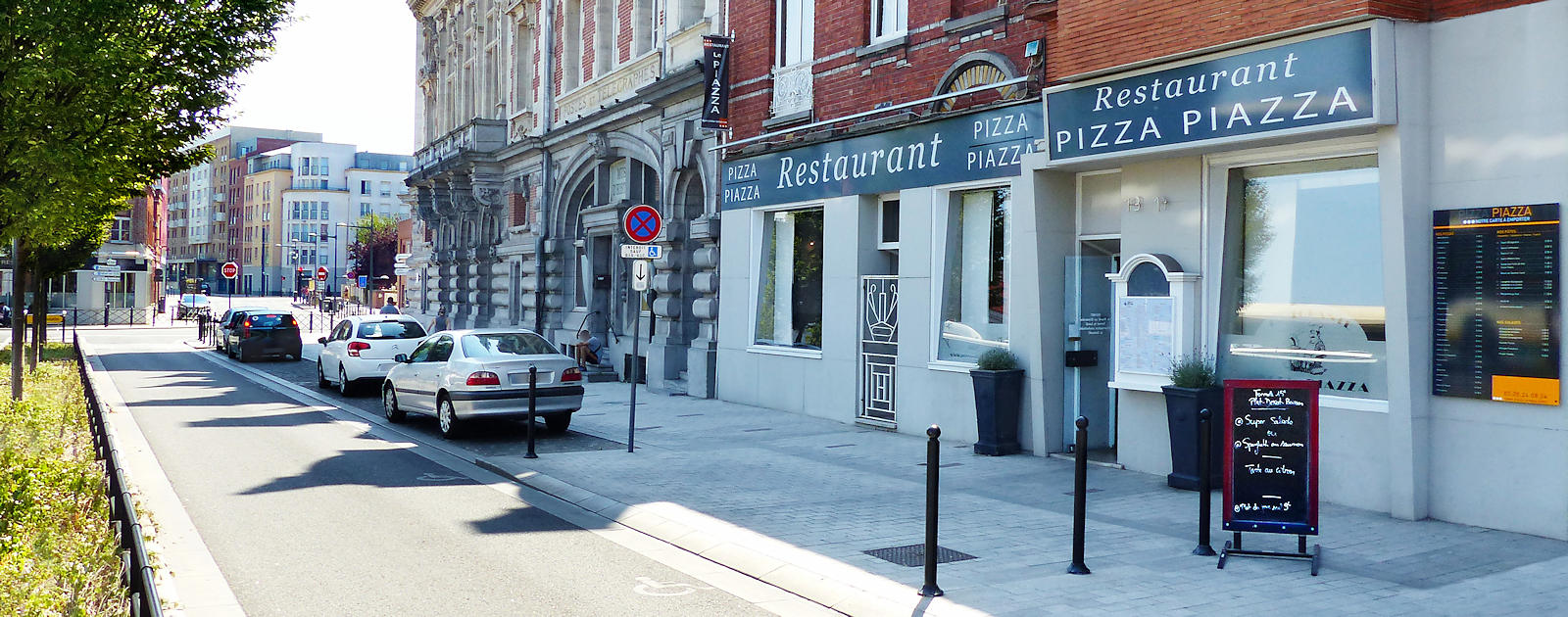 Restaurant italien Pizza Piazza, Place Roussel, Tourcoing