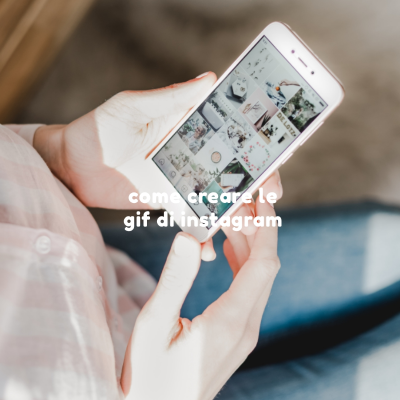 come creare le gif per Instagram tutorial