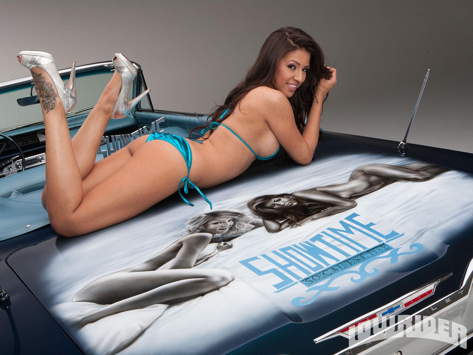 naked women on lowrider magazine
