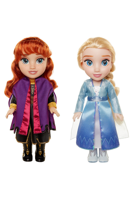 Disney Anna Elsa Doll Set Frozen 2