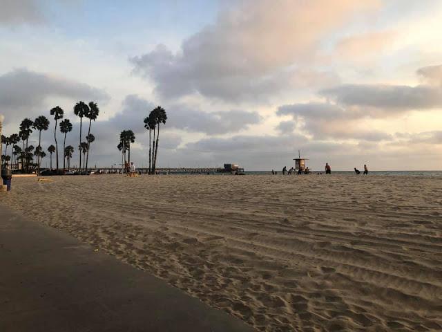 plage de Newport Beach
