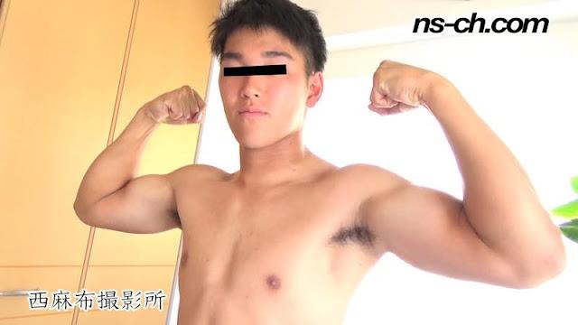 男経験0の体育会男子たち(173cm74kg19歳)