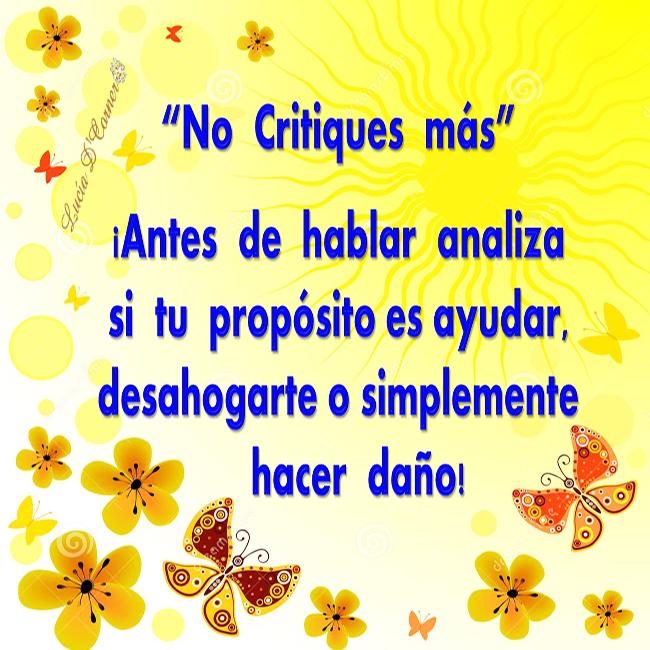no-critiques