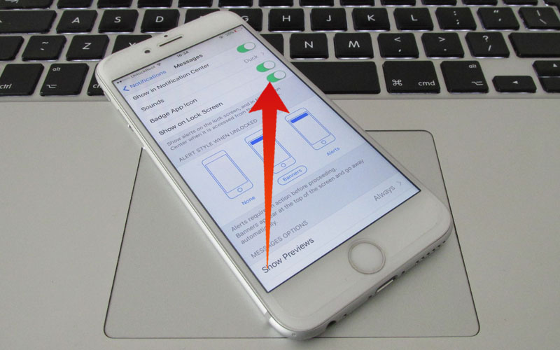 how to turn off message preview on iphone turn message preview on iphone for imessage amp sms 21147