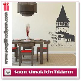 Galata Kulesi Duvar Sticker