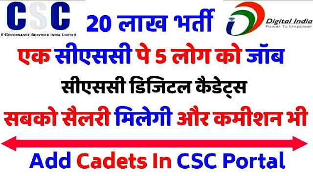CSC DIGITAL CADETS SERVICE