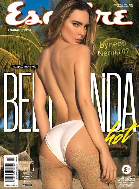 Belinda desnuda Esquire Abril 2016