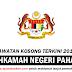 Jawatan Kosong 2019 di Mahkamah Negeri Pahang - Kelayakan Minimum SPM