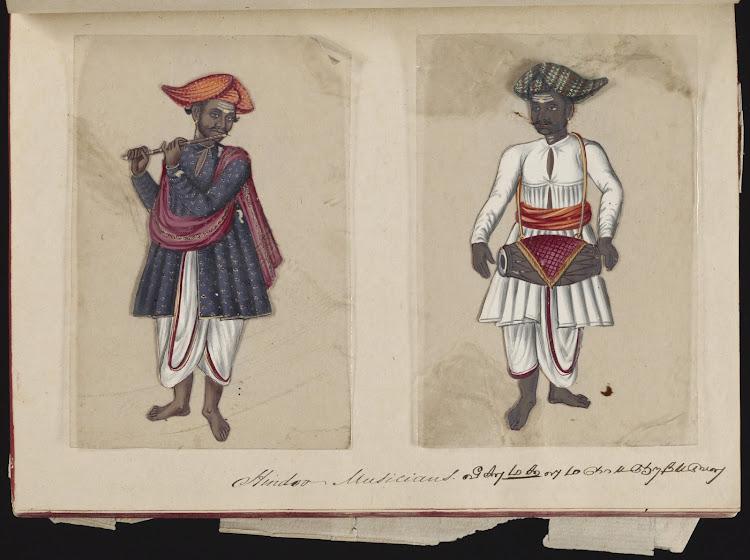 Hindoo Musicians