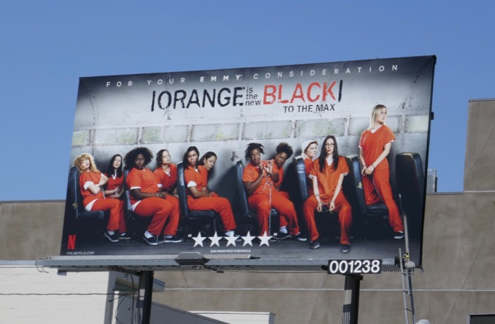 Orange is the New Black season 6 Emmy FYC billboard