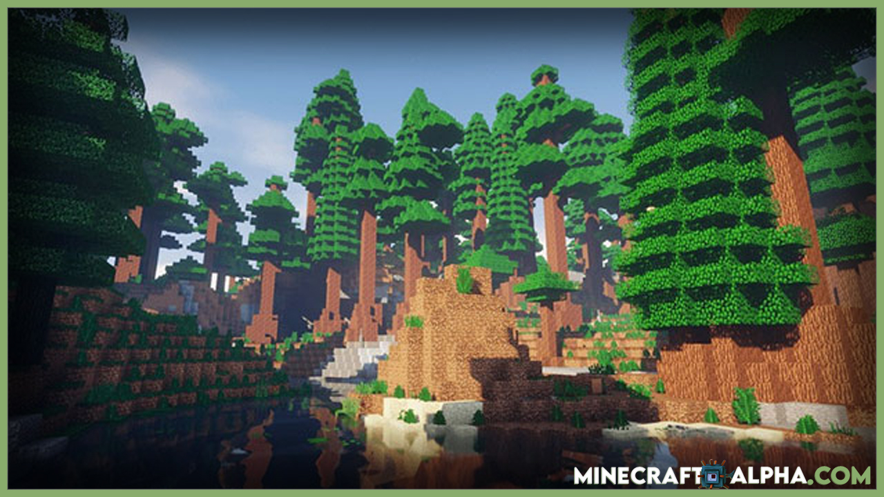 Minecraft Project: Vibrant Journeys Mod For 1.16.5/1.15.2 (A Whole New Land)
