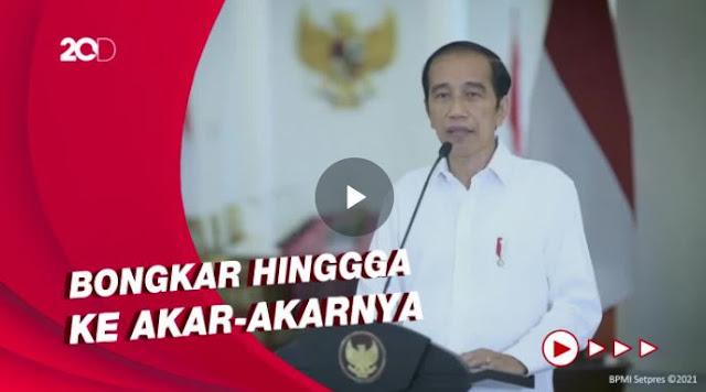 Presiden Jokowi Perintahkan Kapolri Usut Tuntas Jaringan Bom Bunuh Diri di Makassar
